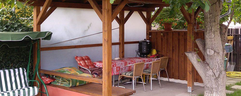 Funkční a stylový zahradní domek bude vaší zahradě slušet