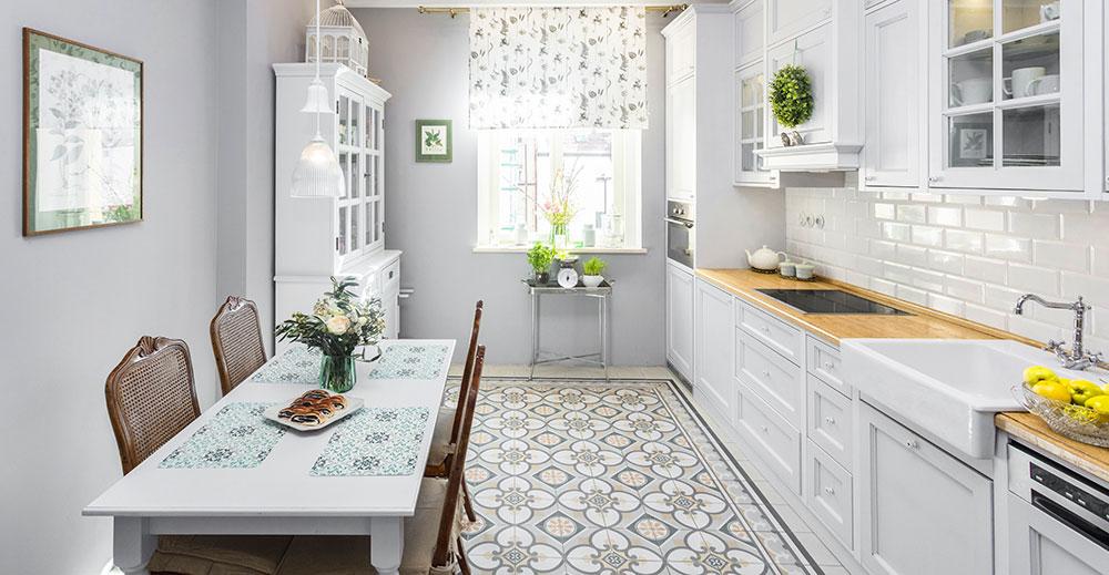 Romanticky laděný byt v pražských Nuslích s rustikálními prvky