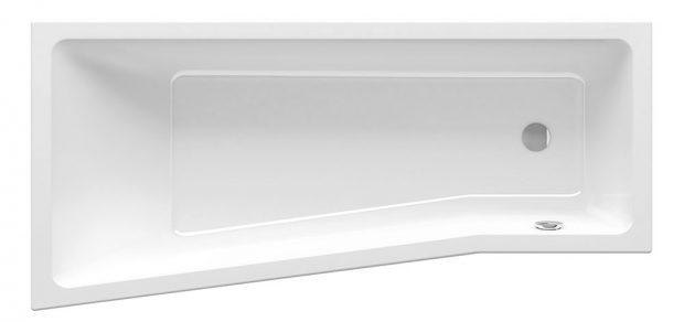 VANA RAVAK BEHAPPY II je inovací designu oblíbeného konceptu asymetrických van pro nejmenší koupelny od autora Kryštofa Nosála, vestavná, délka 160 cm, šířka 75 cm, litý akrylát, barva snowwhite, cena 8 490 Kč, www.ravak.cz