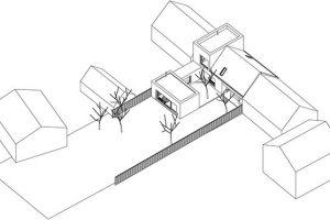Moravany-axo zdroj TOITO ARCHITEKTI