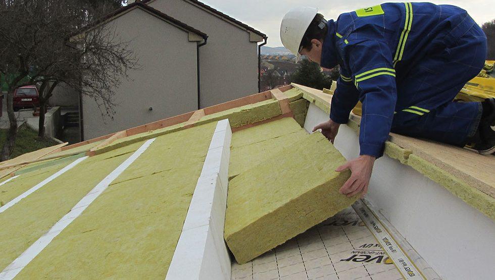 Správná izolace střechy se vyplatí