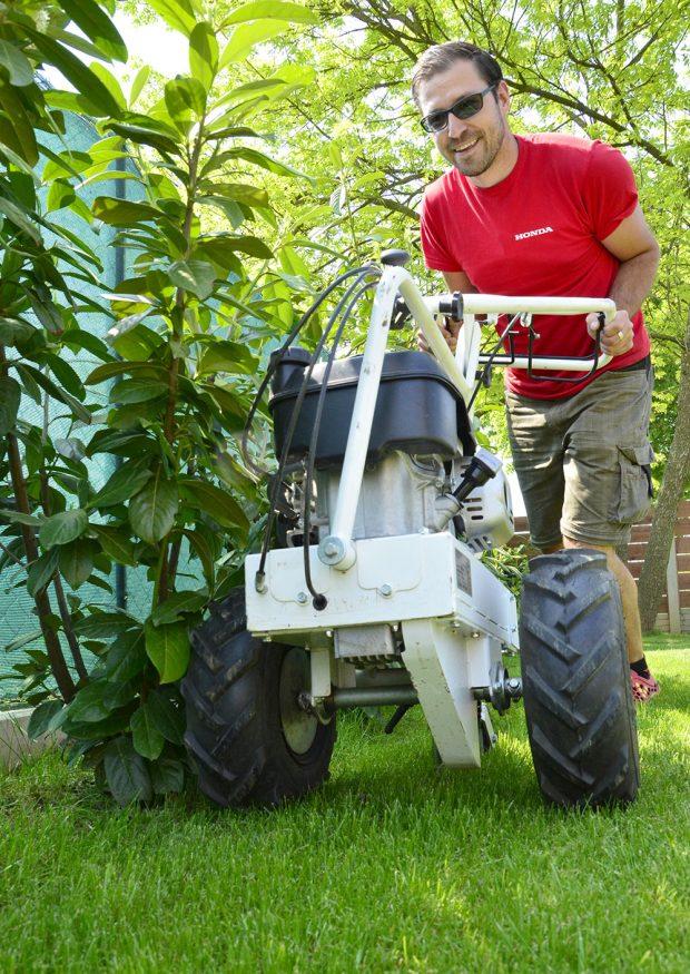 Robotická sekačka Miimo HRM 3000 foto HONDA