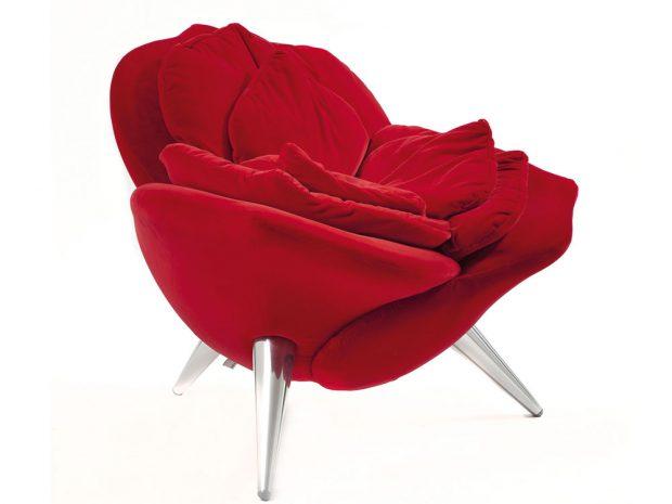 Křeslo Rose (Edra), design Masanori Umeda, cena na vyžádání, www.decoland.cz