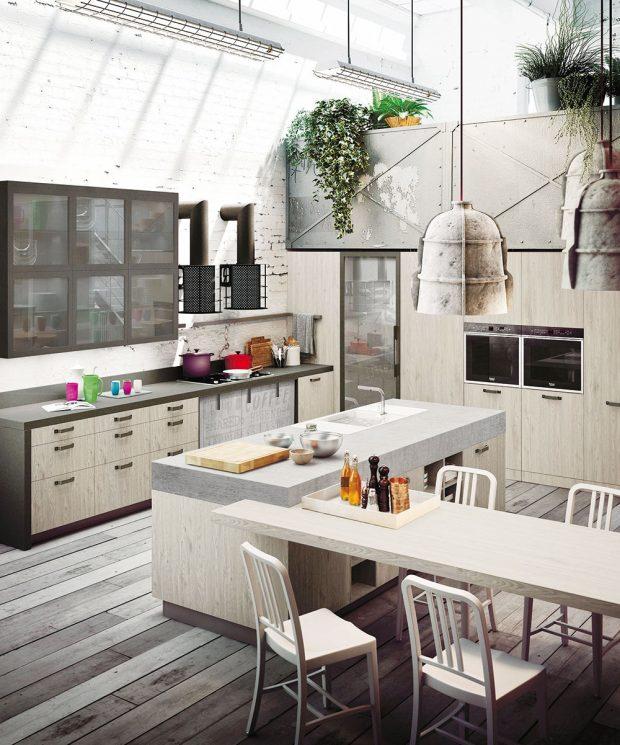Industriální styl sedne na míru netypickým prostorům původně neurčeným kbydlení. www.ikea.cz