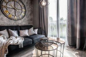 Bytový textil zútulňuje celý byt. FOTO: Radek Hensley