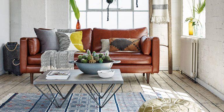 Jak si zařídit obývací pokoj v etno style
