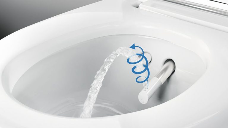 Revoluční technologie sprchování Whirlspray. Nová úroveň intimní hygieny