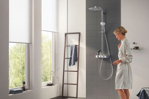 Namixujte si sprchový zážitek na míru: Nový sprchový systém GROHE Euphoria SmartControl
