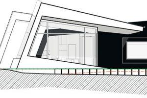 Pohled na jižní fasádu ZDROJ Invit Arkitekter