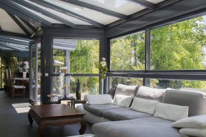 Hliníkové konstrukce Schüco vytvoří komfortní zimní zahrady