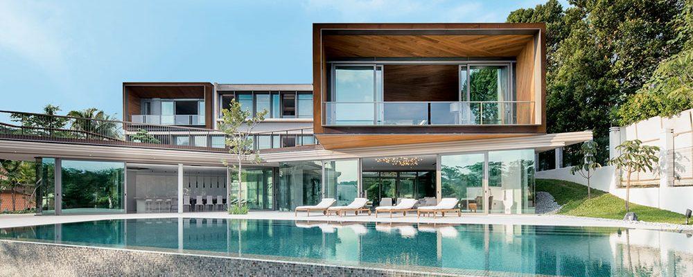 Rezidence House X je nedobytná i transparentní zároveň