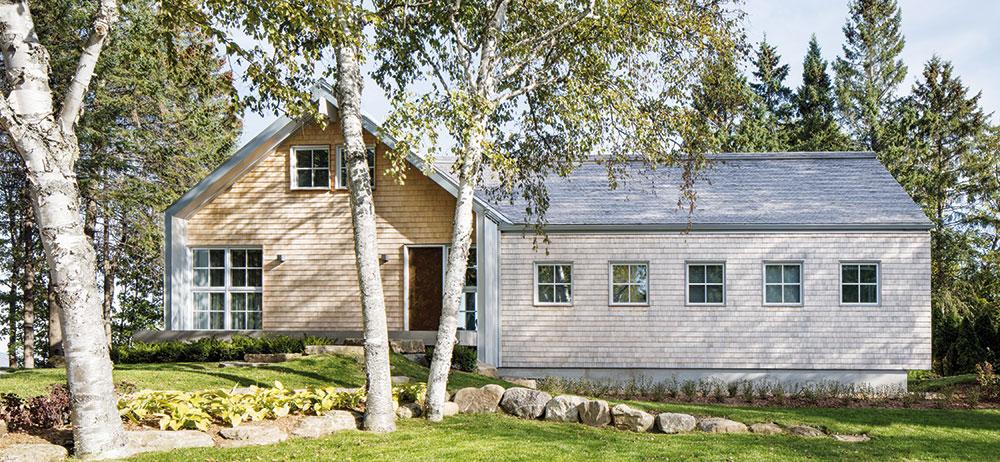 Původní lyžařskou chatu proměnili v rozkošný prázdninový domek