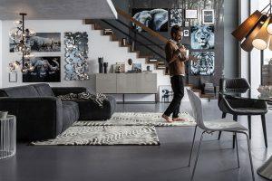 Jak na obývací pokoj v industriálním stylu?