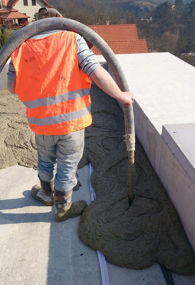 FOTO Českomoravský beton
