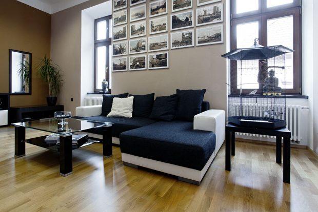Interiér administrativních prostor domu. Foto Zehnder