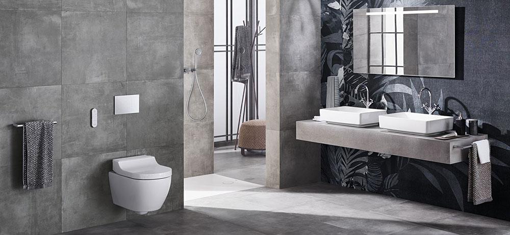 Rozmanitost a svobodný design pro vaši koupelnu