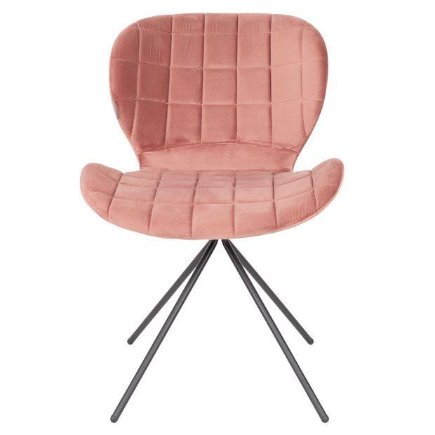 Jídelní židle OMG (Zuiver), ocelová podnož, 80 x 51 x 56 cm, 3 560 Kč, www.lino.cz