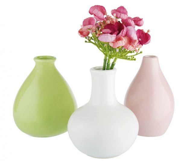 Váza Amelie, keramika, různé barvy atvary, v. 10 a16 cm, 99 Kč, www.moebelix.cz