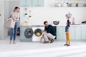 Chytrá pračka Samsung QuickDrive™ plná technologických vychytávek