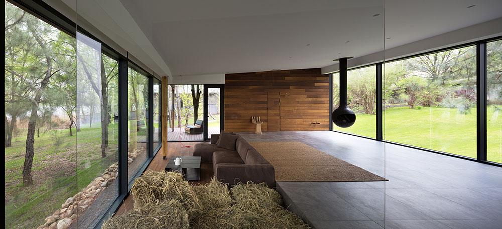 Komfortní bydlení v domě z přírodních materiálů