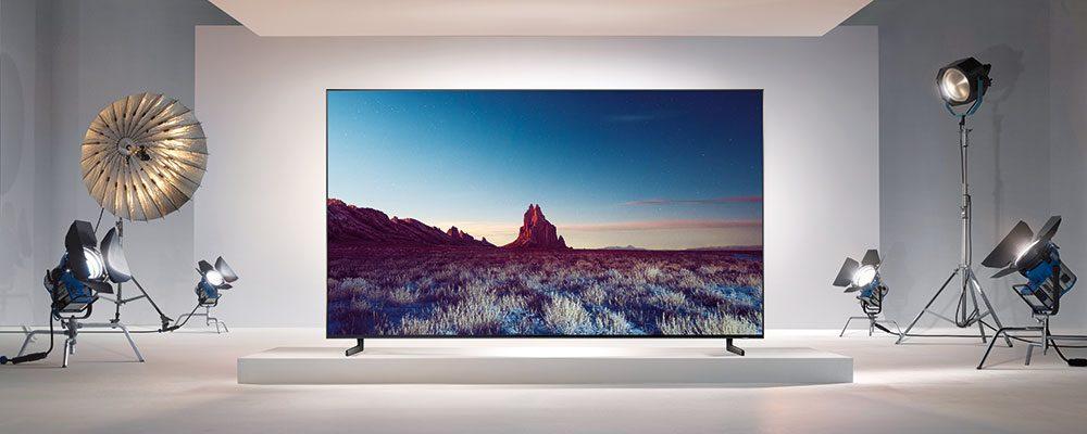 Televizor s obřím rozlišením