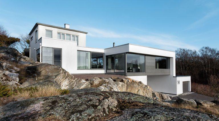 Dům vyšlý z módy proměnili ve vilu ve stylu Bauhaus