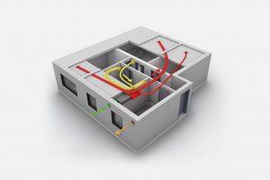 Praktický příklad větrání s rekuperací – novostavba bytu v developerském projektu