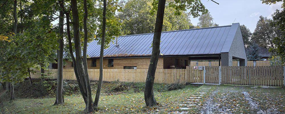 Jednopodlažní bezbariérový dům zasazen do krásného prostředí