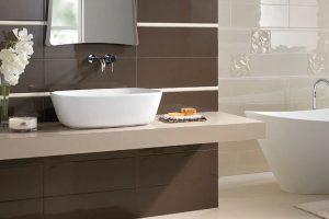 Pohodlné a trendy koupelny