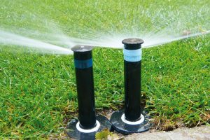 Automatické závlahové systémy ocení každý, kdo chce mít dokonalý trávník. FOTO LUCIE PEUKERTOVÁ