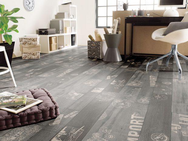 PVC podlaha Kasos 4M nabízí neobvyklý dekor alze koupit výhradně vpodobě upravené délky dle požadavků konkrétního zákazníka. www.hornbach.cz