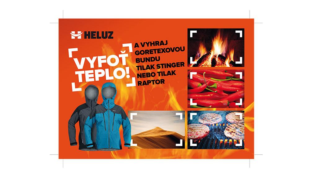 """HELUZ vyhlásil soutěž """"Vyfoť teplo"""""""
