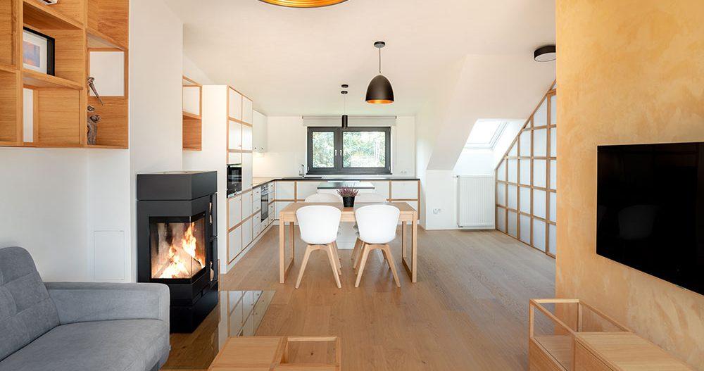 Proč se majitelé rozhodli rekonstruovat zcela nový byt