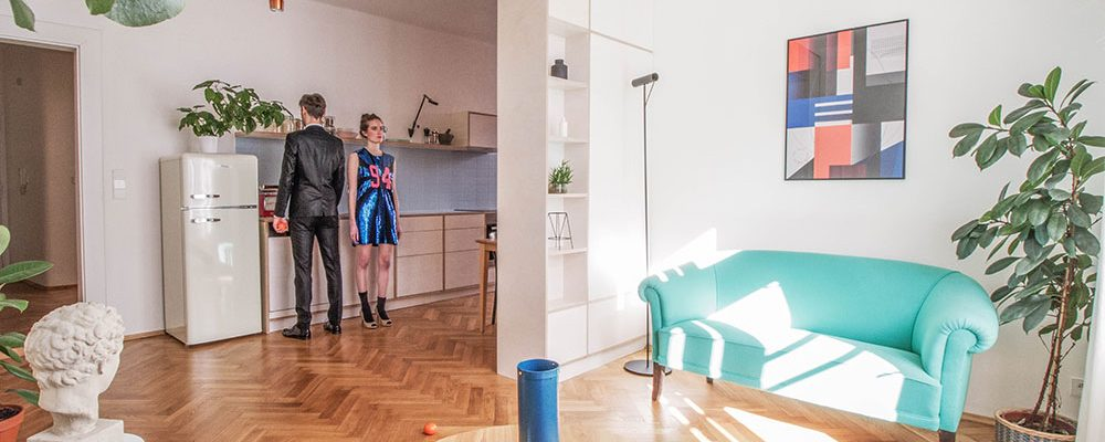 Historický byt z 30. let po proměně: Propojený, odlehčený, prosvětlený