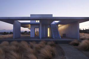 Dva dynamické domy určeny pro celoroční lenošení