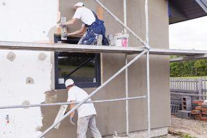 Okna v silných fasádních izolacích
