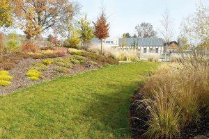 Zahrada může být díky rostlinám krásná po celý rok. FOTO LUCIE PEUKERTOVÁ