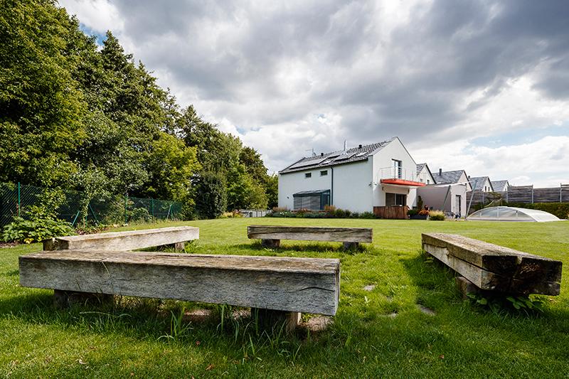 Ukázkový moderní dům v blízkosti Brna