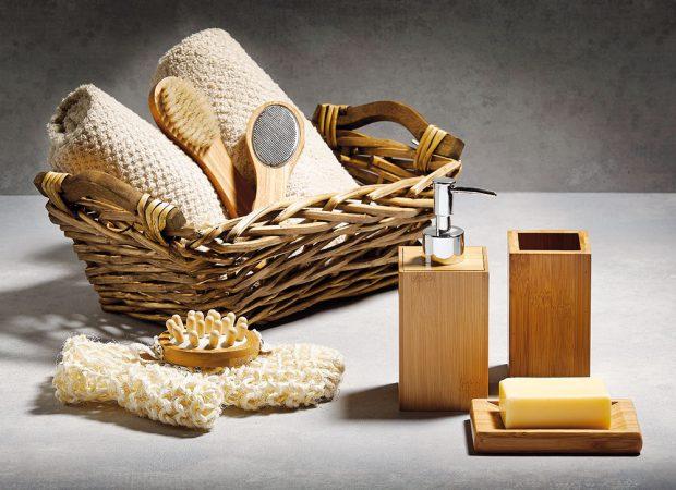 Koupelnové doplňky (Galzone), bambus a bavlna, cena na dotaz, www.bonami.cz