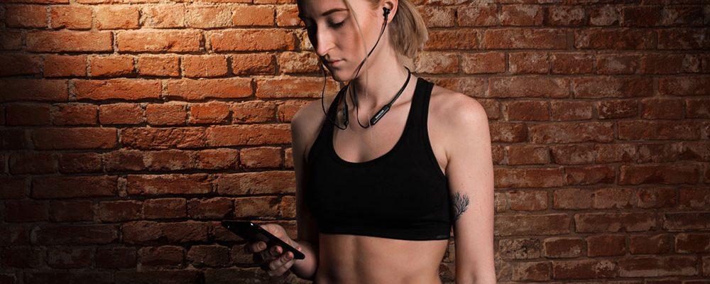 Bezdrátová sluchátka SENCOR SEP 500BT jsou tou správnou volbou nejen pro sportovní aktivity