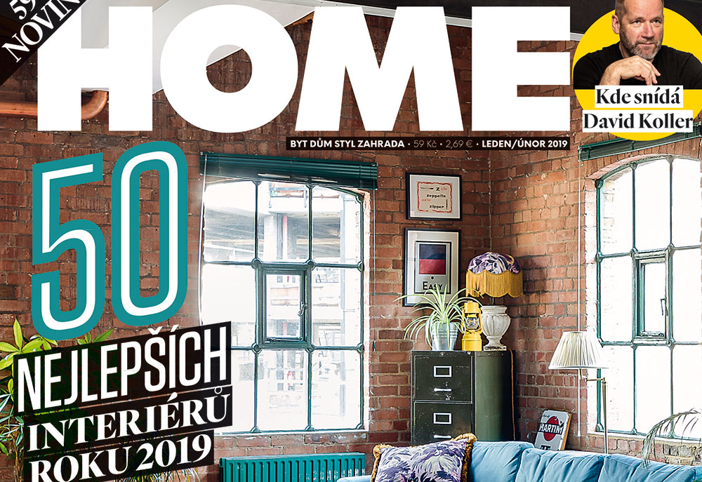 Soutěž s časopisem HOME o Interiér roku 2019