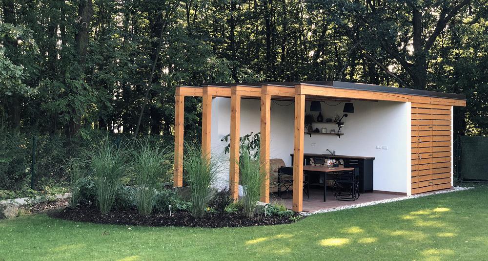 Jak postavit letní kuchyň na zahradě