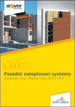Prospekt Fasádní zateplovací systémy ISOVER. Foto ISOVER.