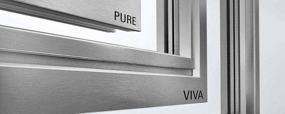 Pro pasivní domy se hodí certifikovaná plastová okna Schüco LivIng Alu Inside