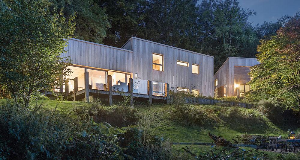 Nízkoenergetická dřevostavba aneb rekreační chata na anglický způsob