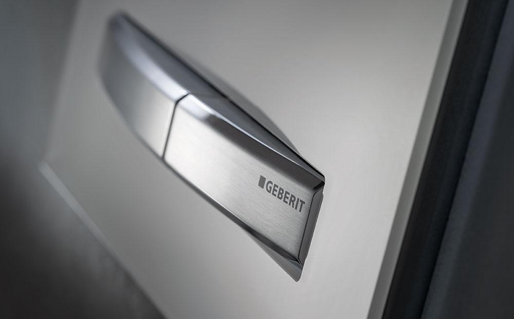 Vylepšili jsme ovládací tlačítko splachování Geberit Sigma50