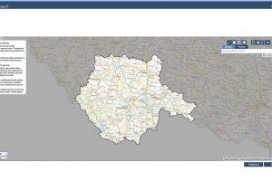Zde můžete zakreslit zájmové území. zdroj HRDLIČKA