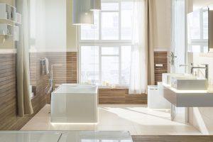 Promyšlené koupelny: Funkčnost a estetika ruku v ruce