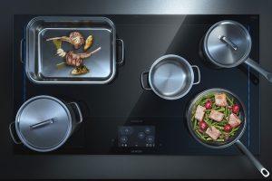 Maximální flexibilita vaření a dokonalý design