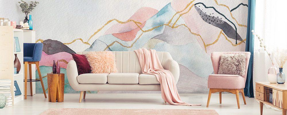 4 x obývací pokoj s ženskou něžností